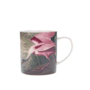 Cană crem cu flamingo Magpie Birds de la Zoot.ro