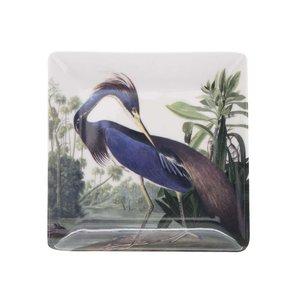 Farfurie pentru aperitiv crem cu imprimeu Magpie Birds de la Zoot.ro