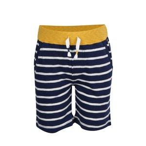 Pantaloni scurți alb & albastru Tom Joule din bumbac cu model în dungi și talie elastică pentru băieți de la Zoot.ro