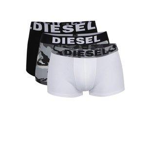 Set Diesel în nuanțe neutre cu trei perechi de boxeri de la Zoot.ro