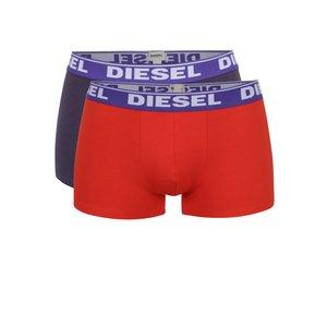 Set violet&roșu Diesel cu două perechi de boxeri de la Zoot.ro
