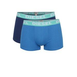Set albastru Diesel cu două perechi de boxeri de la Zoot.ro