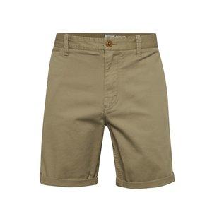 Pantaloni chino scurți bej Quiksilver cu croi drept de la Zoot.ro