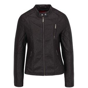 Jachetă maro s.Oliver din piele ecologică pentru femei