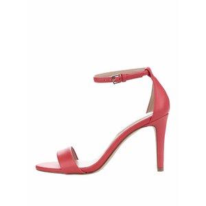 Sandale roșii ALDO Camy cu toc stiletto de la Zoot.ro