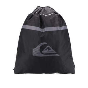 Rucsac gri & negru Quiksilver cu logo de la Zoot.ro