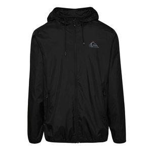 Jachetă neagră Quiksilver cu glugă