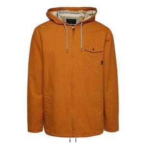 Jachetă galbenă Quiksilver din bumbac cu glugă de la Zoot.ro