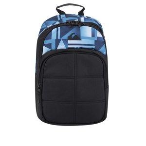 Rucsac negru & albastru Quiksilver 24 l cu model și logo de la Zoot.ro