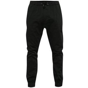 Pantaloni negri Quiksilver cu talie elastică de la Zoot.ro