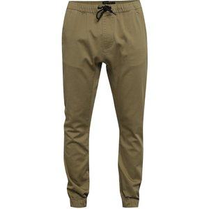 Pantaloni bej Quiksilver cu talie elastică de la Zoot.ro