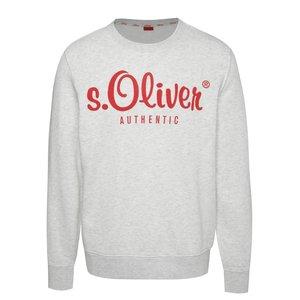 Bluză albă s.Oliver cu print