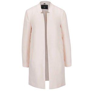 Palton subțire roz pal Dorothy Perkins cu guler cu decupaje de la Zoot.ro