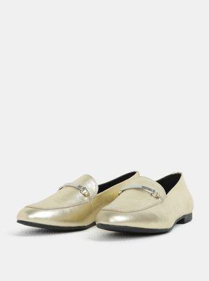 513abc1ad3cc Dámske kožené mokasíny v zlatej farbe Vagabond Eliza - Dámske oblečenie