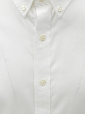 6cfad0bbb409 Biela pánska formálna slim fit košeľa GANT - Pánske oblečenie