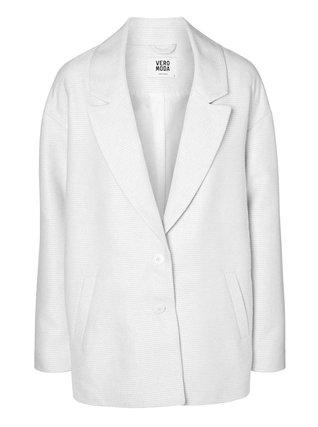 Vero Moda - Bílý kabát  Noa - 1