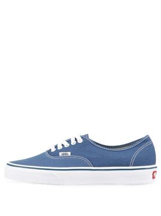 Modré pánske nízke tenisky VANS Authentic