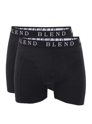 Set dvoch čiernych pánskych boxeriek Blend