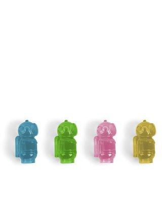 Sada 8 barevných chladicích kostek do nápoje Kikkerland Potapěči
