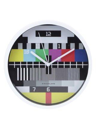 Nástěnné hodiny Kikkerland Test Screen