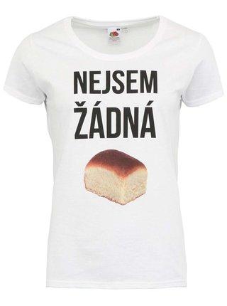 Bílé dámské tričko ZOOT Originál Nejsem žádná buchta