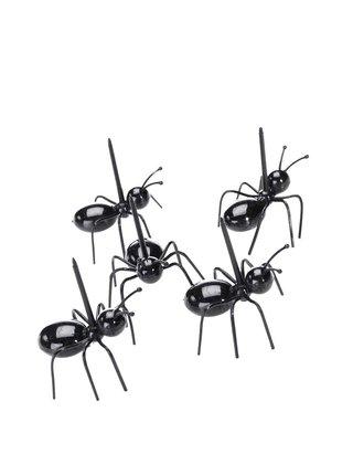 Set de 20 de scobitori in forma de furnica Kikkerland