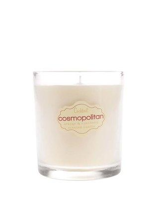 Růžová vonná svíčka Gift Republic Cosmopolitan