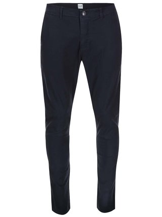 Tmavomodré chino nohavice ONLY & SONS Cale