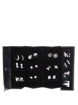 Set de cercei argintii Pierre Cardin
