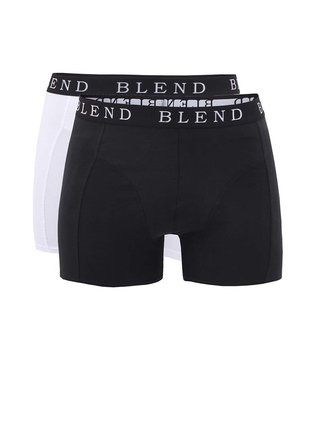 Blend, White and Black Boxer Shorts Set