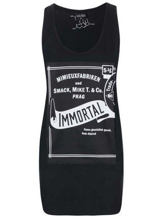 Čierne dámske minišaty Smack Immortal by Anna Mimieux
