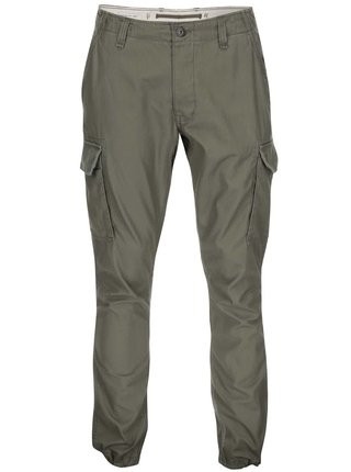 Zelené nohavice Jack & Jones Cody