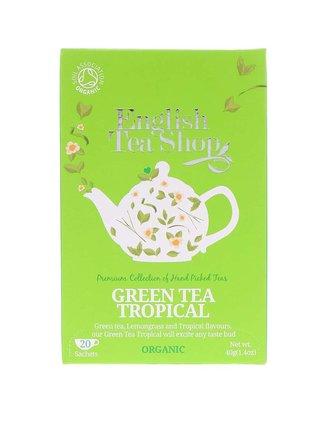 Zelený čaj English Tea Shop Tropické Ovocie Bio