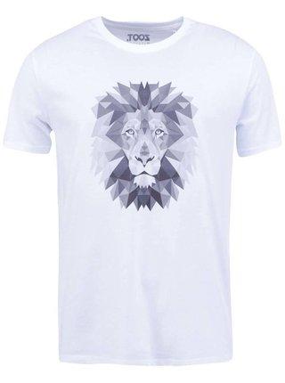 Biele pánske tričko ZOOT Originál Lev
