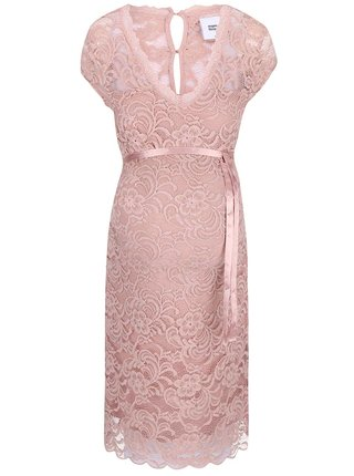 Rochie MAMA.LICIOUS New Mivana roz deschis din dantela