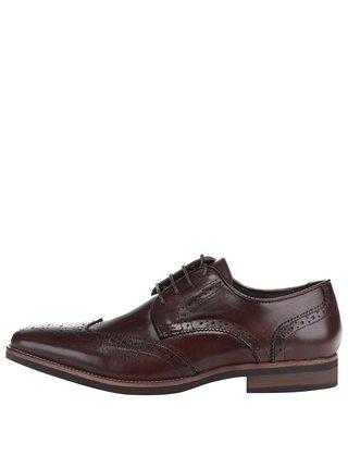 Pantofi brogue din piele Dice Marlow negri