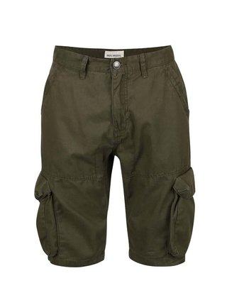 Kaki kapsáčové šortky Shine Original Elbert