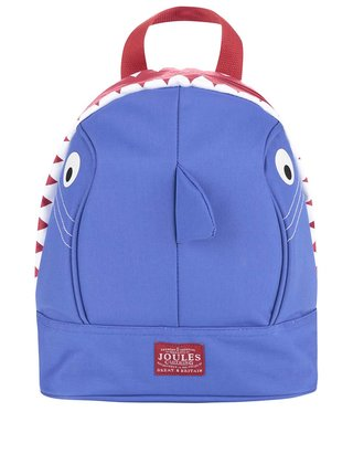 Tmavomodrý chlapčenský batoh v tvare žraloka Tom Joule