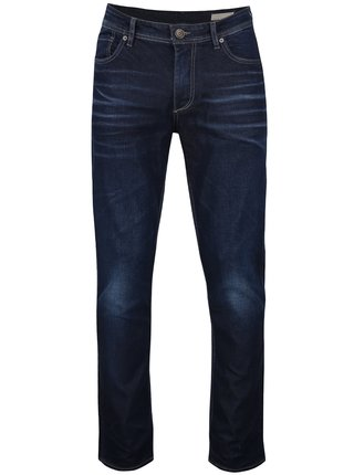 Tmavomodré rifle Selected Homme Three Dean