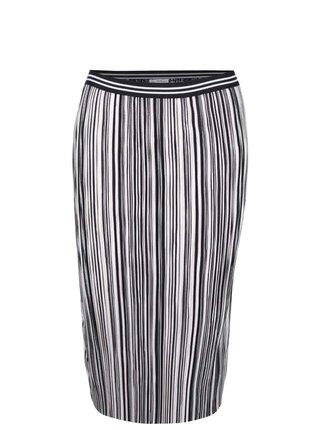 2c2b92097a52 Čierna sukňa s trblietavým vyšívaním Miss Selfridge