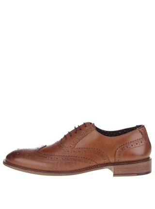 Pantofi oxford maro Gatsby London Brogues
