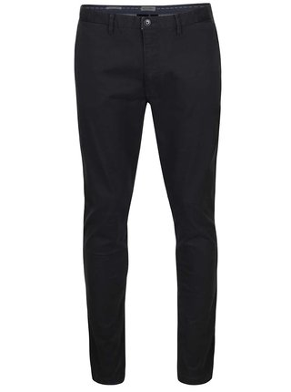 Pantaloni chino negri Jack & Jones Marco