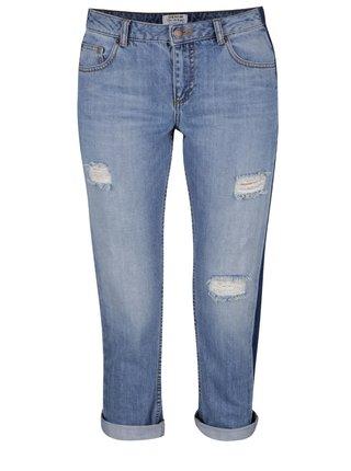 Jeansi albastru deschis cu aspect uzat Miss Selfridge