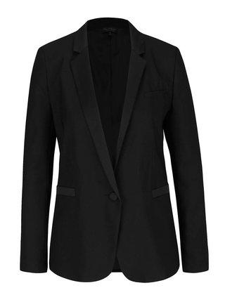 Sacou negru oversize Miss Selfridge