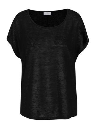 Tricou negru VILA Sumi