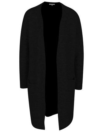 Čierny dlhý vlnený kardigan Selected Femme Livana