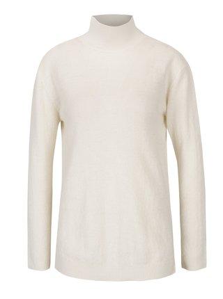Krémový dámský vlněný svetr s průstřihem na zádech Garcia Jeans