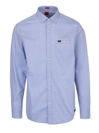 Camasa bleu slim fit - s.Oliver