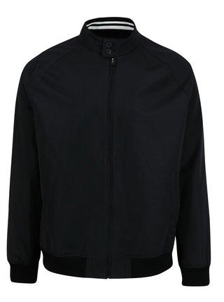 Jacheta neagra cu buzunare si terminatii elastice - Burton Menswear London