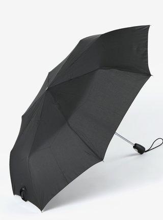Černý skládací vystřelovací deštník Esprit